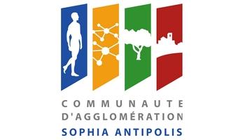 Logo Communauté d'agglomération Sophia Antipolis