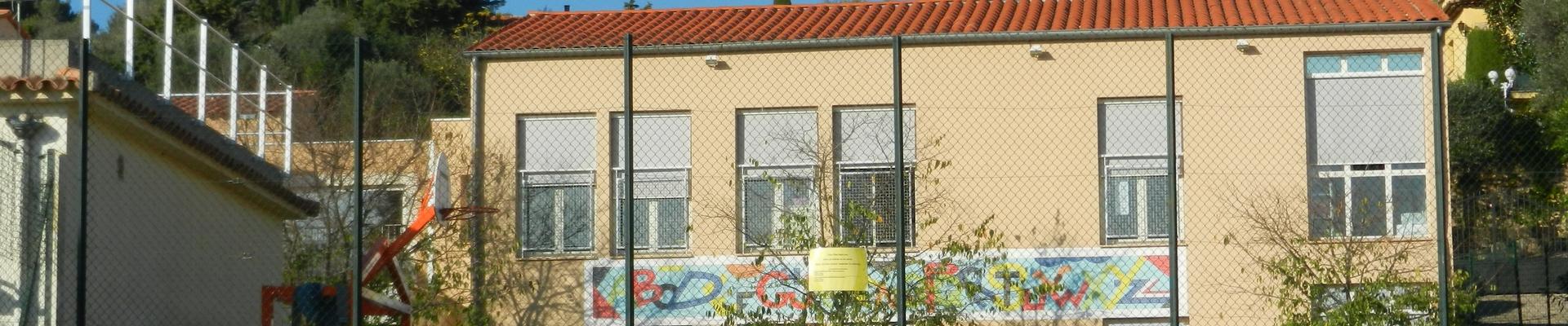 Bandeau Ecole maternelle Le Rouret