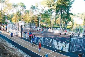 Plateau multi sports 1400