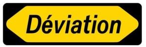 Panneau-deviation