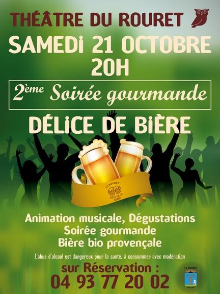 Fête de la bière le 21 Octobre 2017 – Théâtre du Rouret