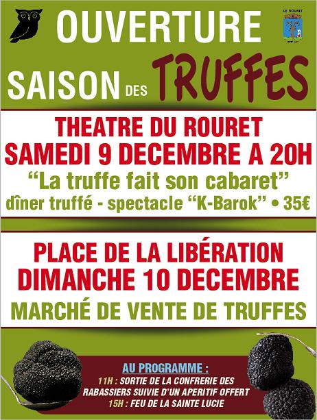 Saison des truffes