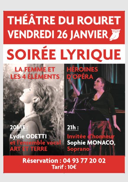 Théâtre du Rouret – 26 Janvier 2018