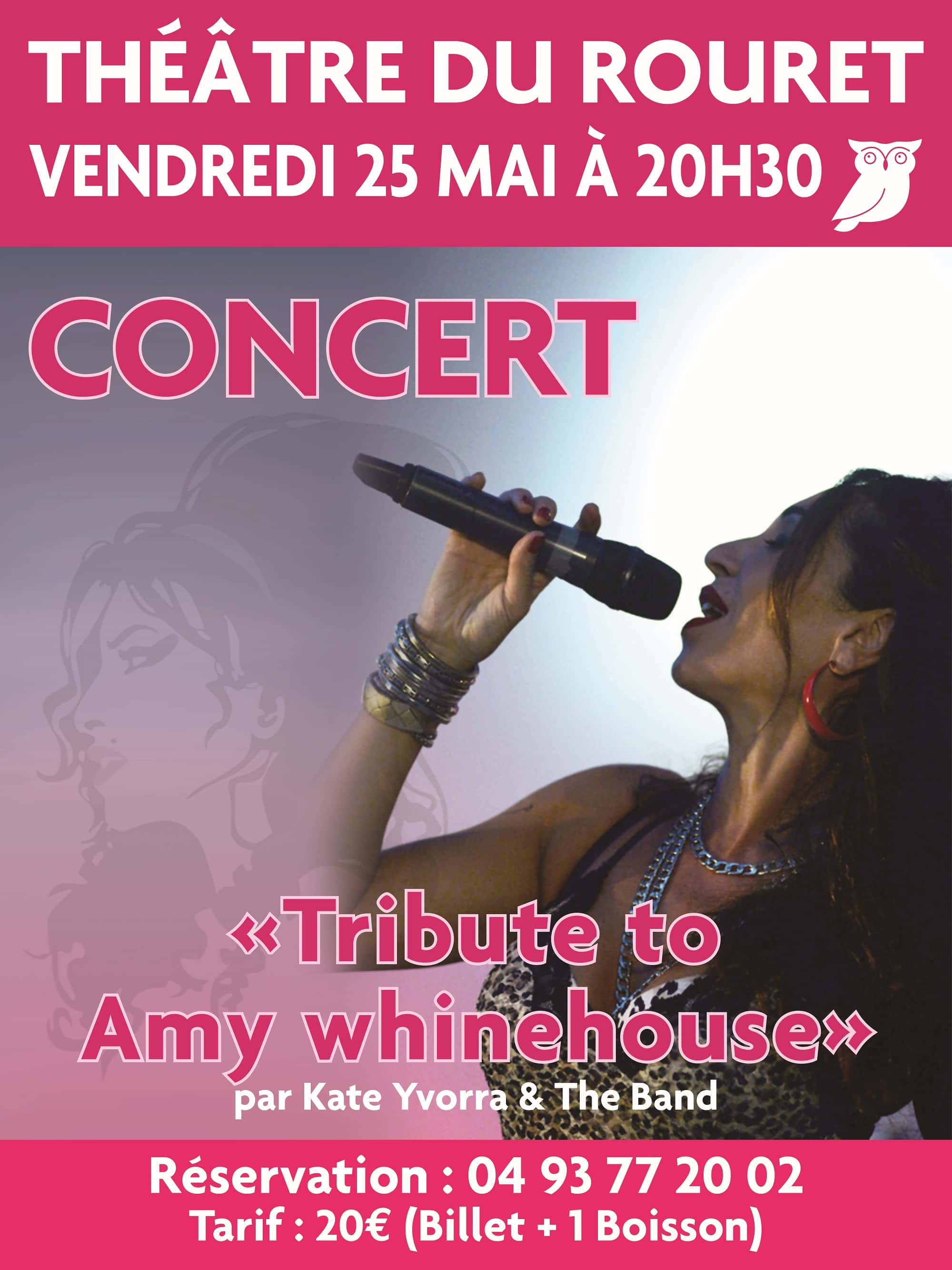 Concert « Tribute to Amy Whinehouse »