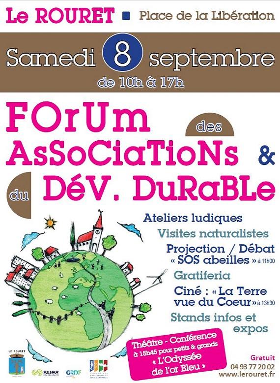 Forum des association et du développement durable 2018