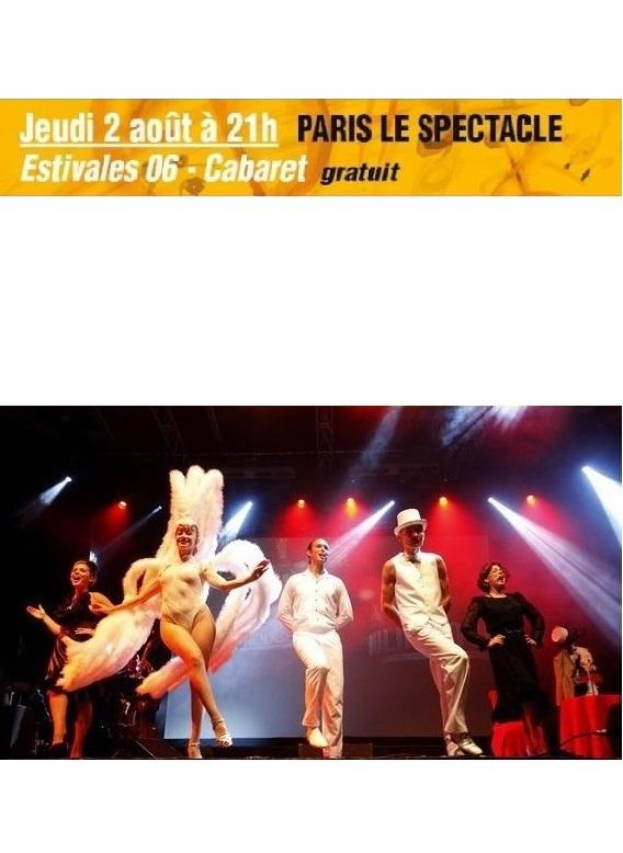Jeudi 2 août à 21h – Paris le spectacle
