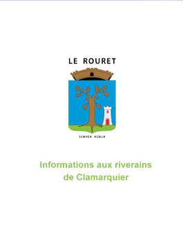 Informations aux riverains de Clamarquier