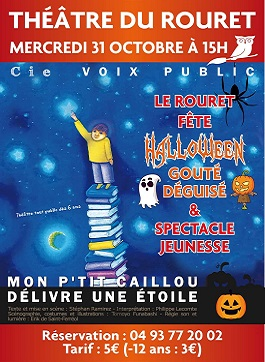 Halloween au Rouret Gouté + spectacle – 31 Octobre 2018
