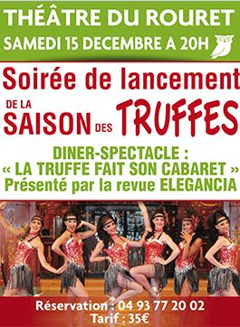 Samedi 15 Décembre – 20h – Dîner Cabaret