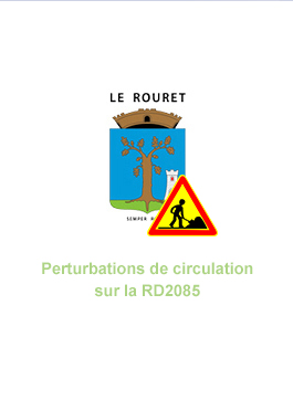 Perturbations de circulation sur la RD2085