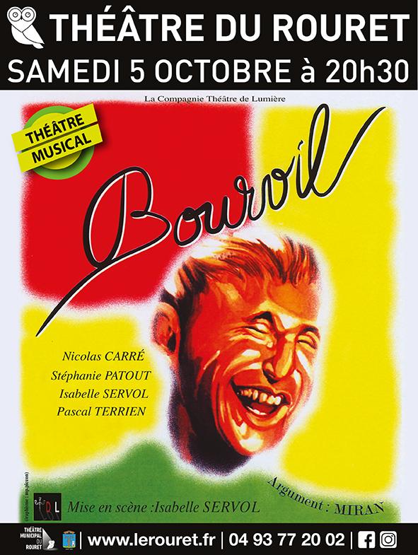 THÉÂTRE MUSICAL – BOURVIL – SAMEDI 05 OCTOBRE A 20H30